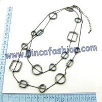 Alloy long necklaces